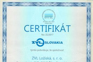 certifikáty ložiská